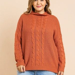 🌸PLUS SIZE!Long Sleeve Pullover Sweater